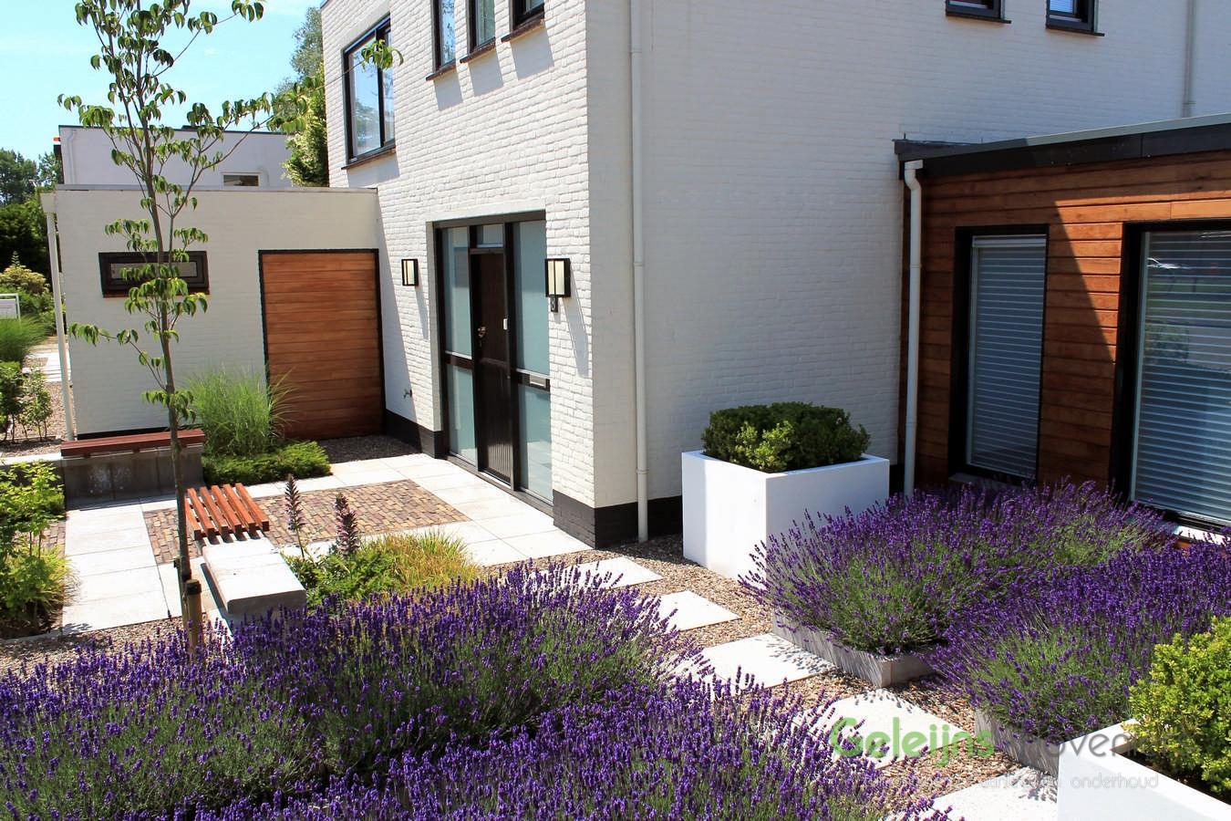 Design voortuin in roosendaal geleijns hoveniers - Tuin met openlucht design ...