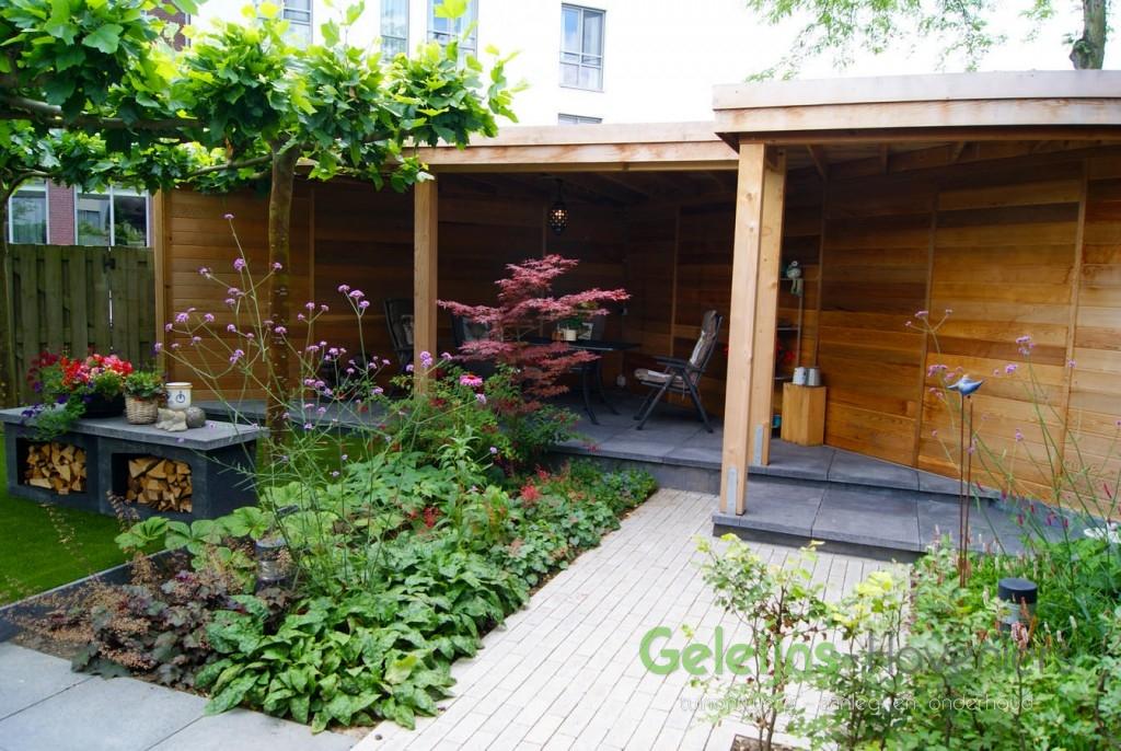 Diagonale tuin te zevenbergen geleijns hoveniers for Vacature tuin
