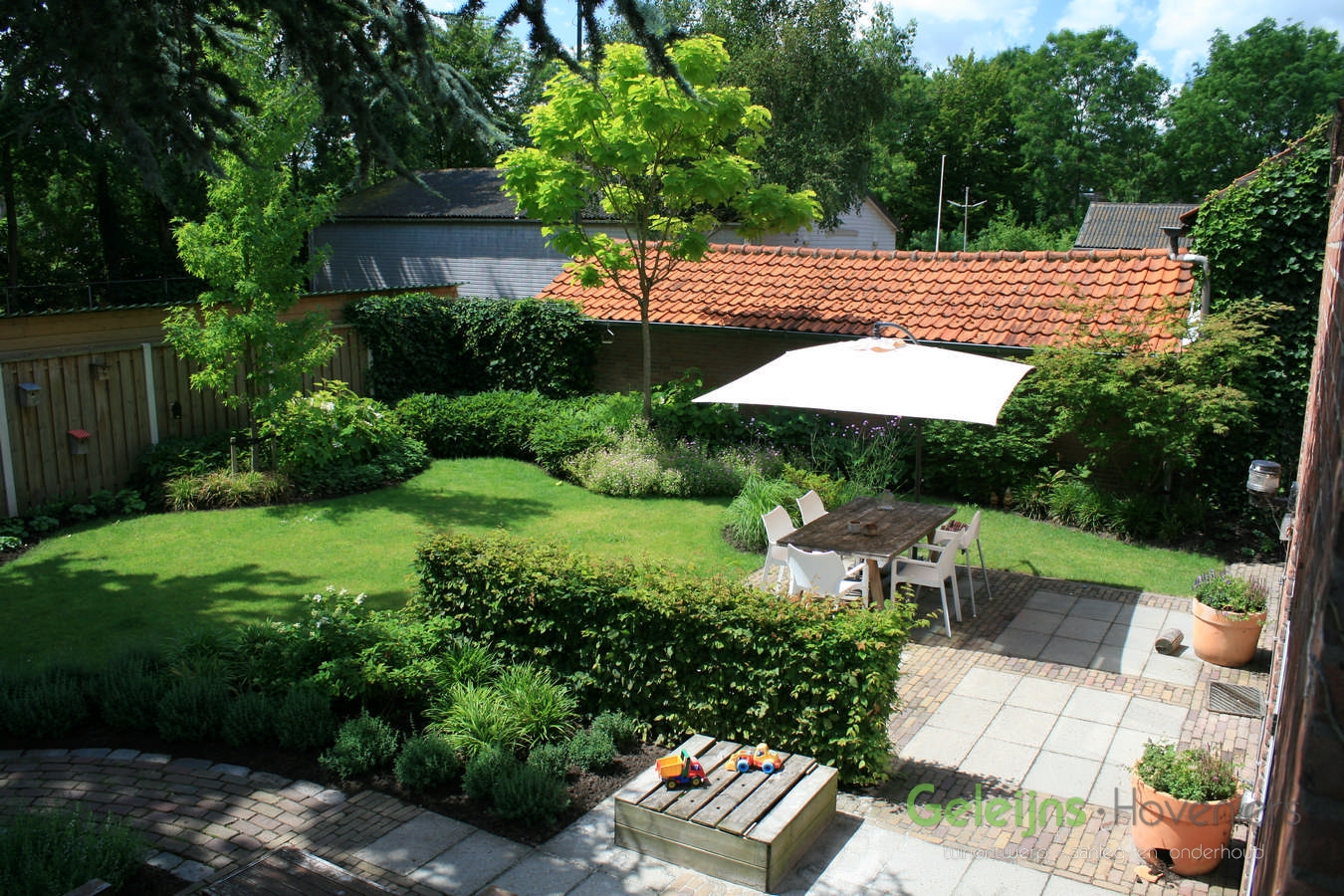 Onze werkwijze geleijns hoveniers - Hoe amenager tuin ...