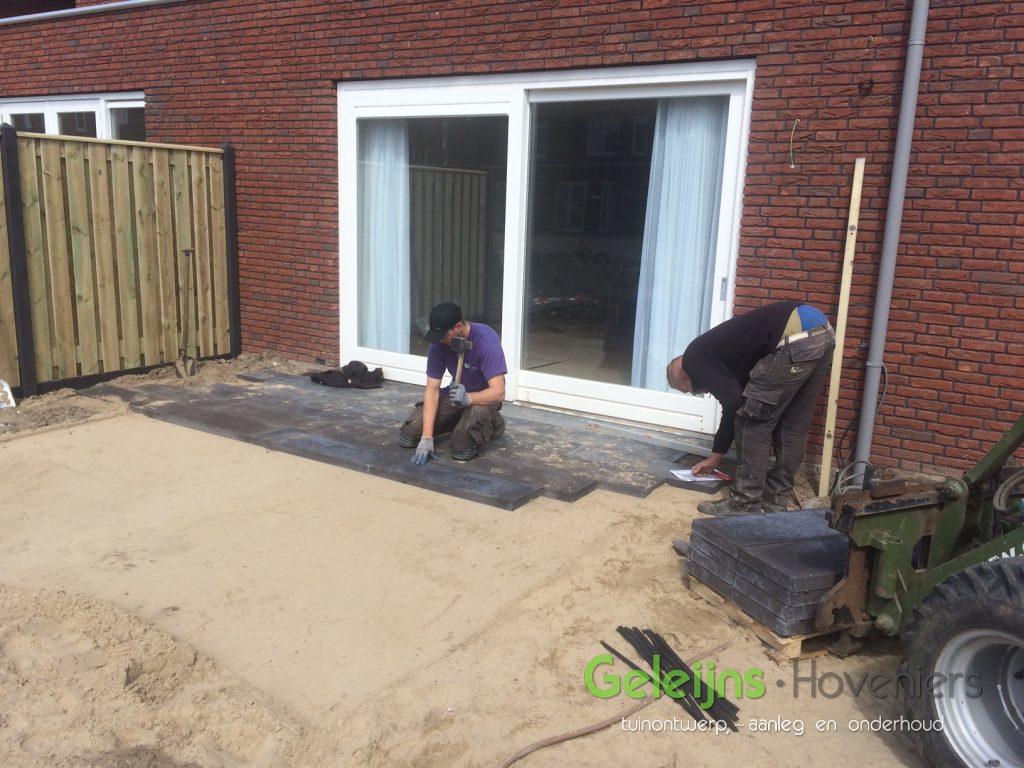 aanleg tuin-aanleg achtertuin-straatwerk